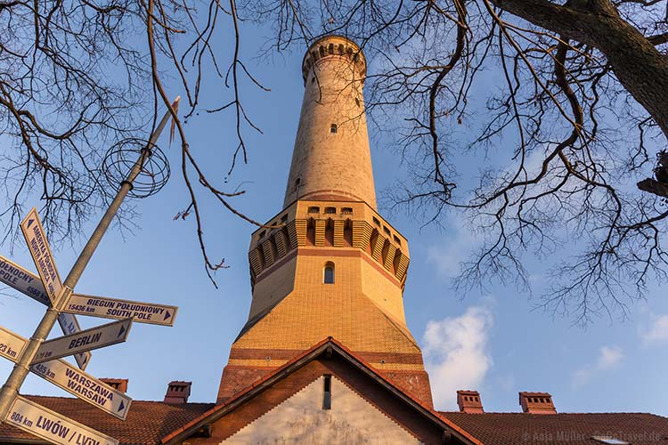 Der Leuchtturm von Swinemünde