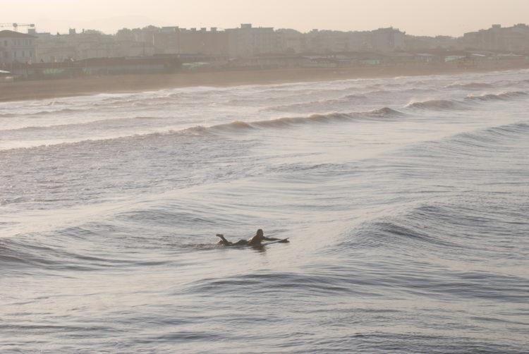Versilia Küste im Morgenlicht