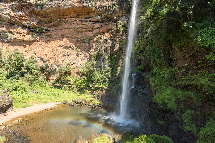 Der Lone Creek Falls in Südafrika