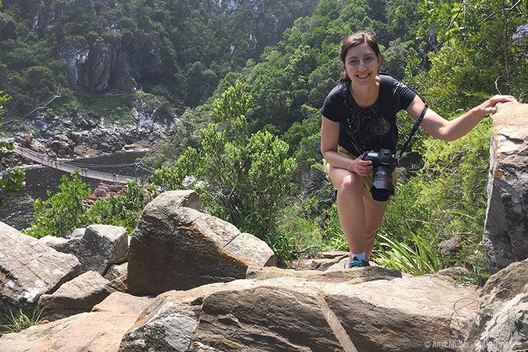 Beim Lookout Trail muss man auch schon mal ein wenig klettern.