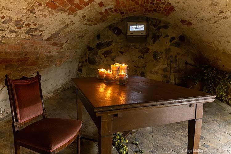 Ein Keller in Luckau