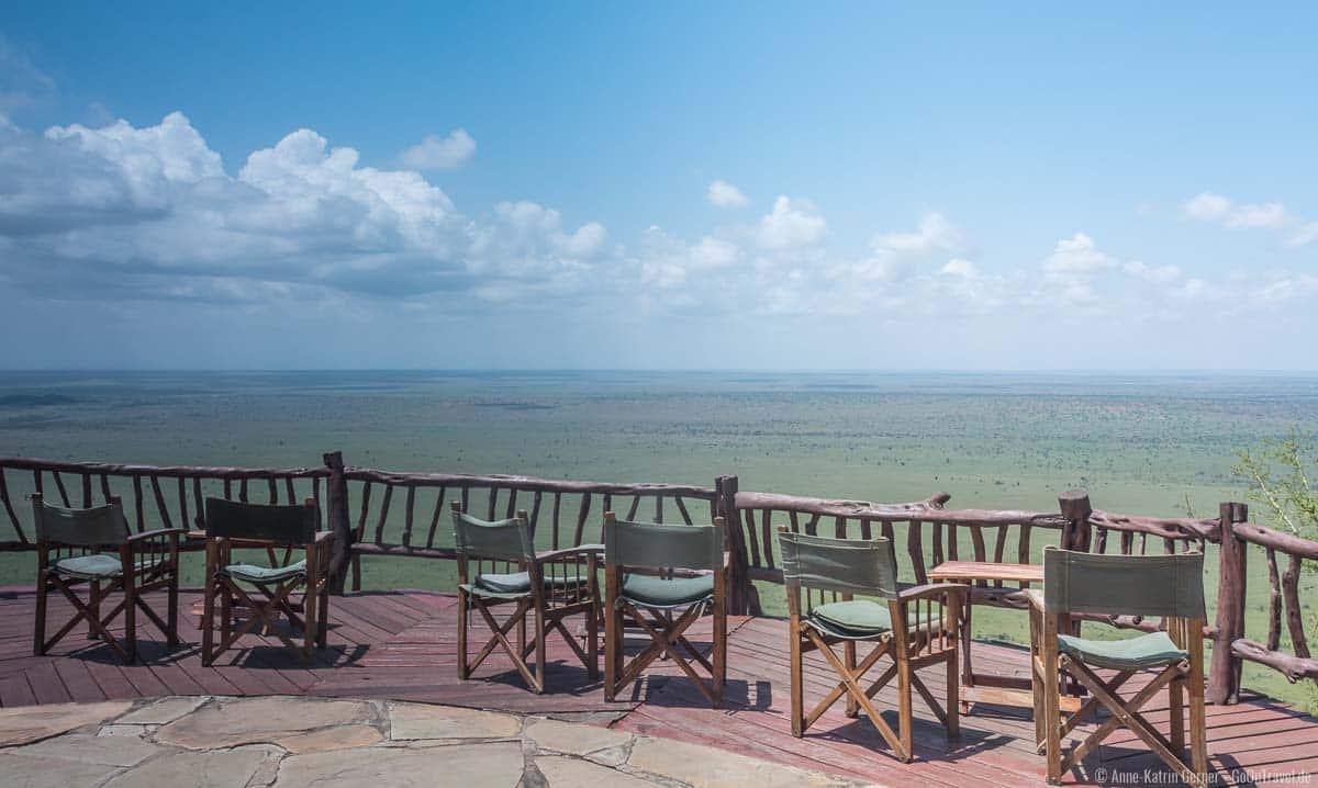 Panoramaterrasse für den perfekten Sundowner