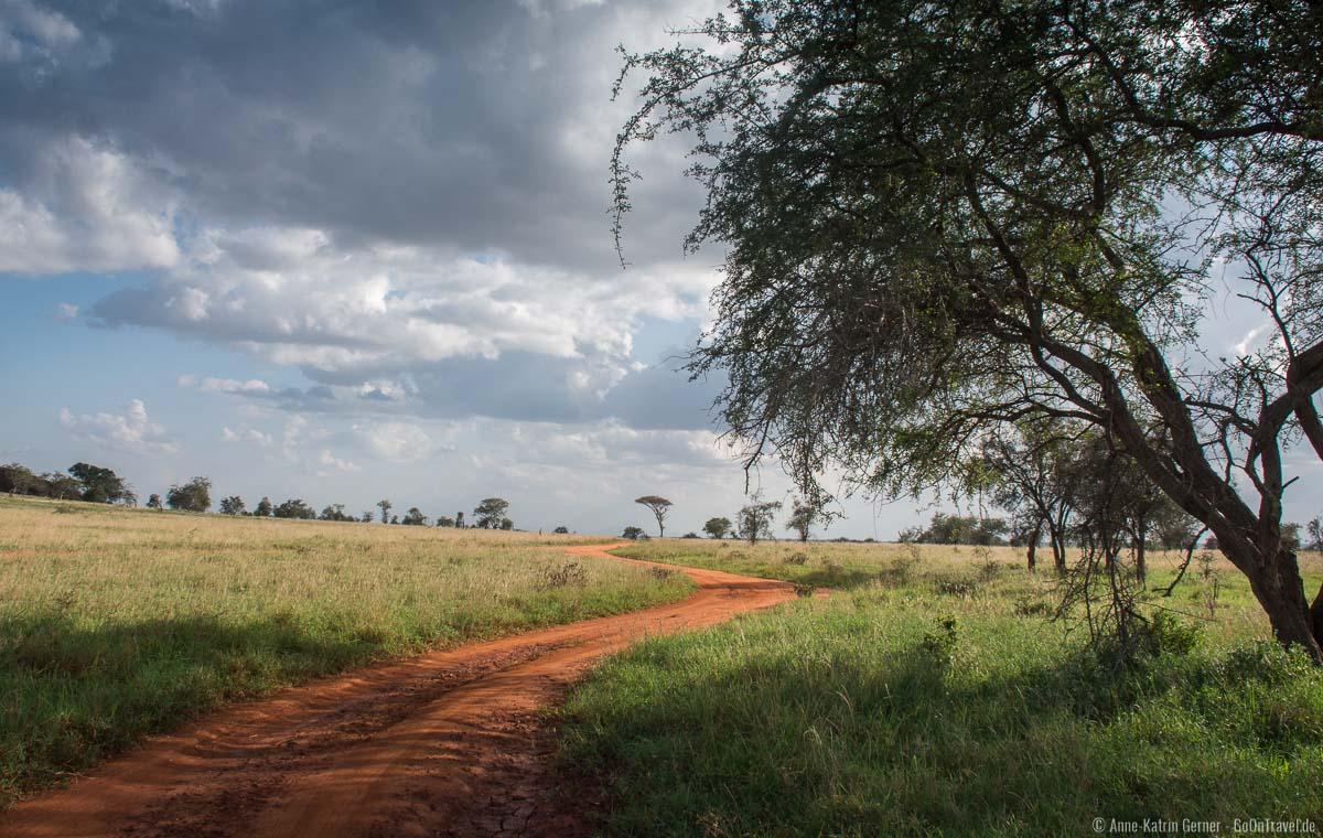 Fahrt durch das LUMO Schutzgebiet