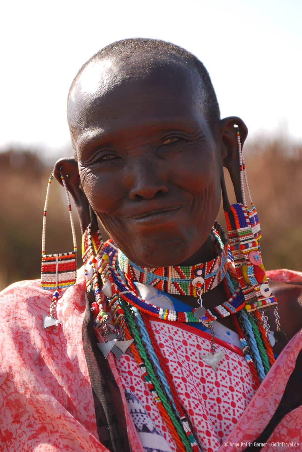 Maasai in Amboseli