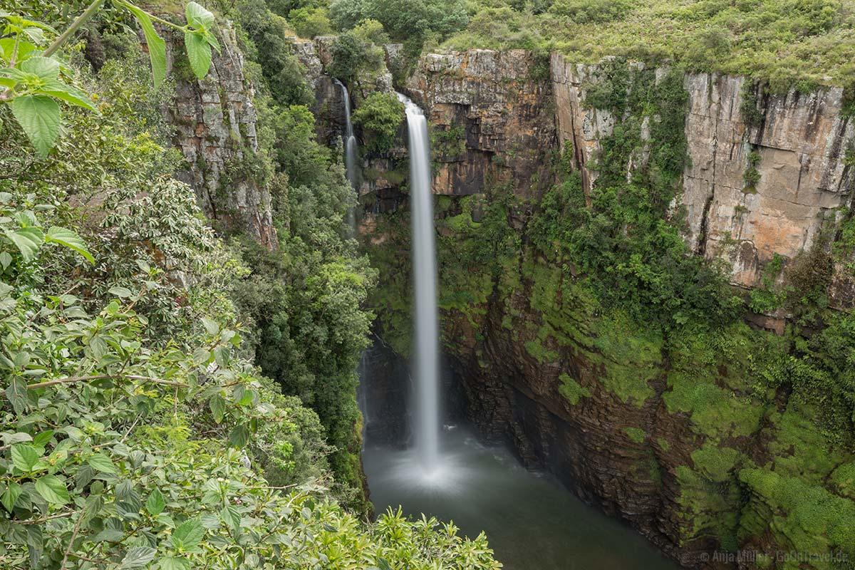 Der Mac Mac Falls an der Panorama Route