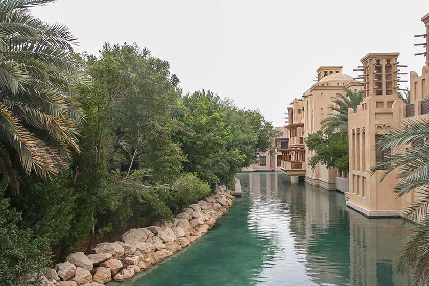 Wasserweg in der Madinat Jumeirah