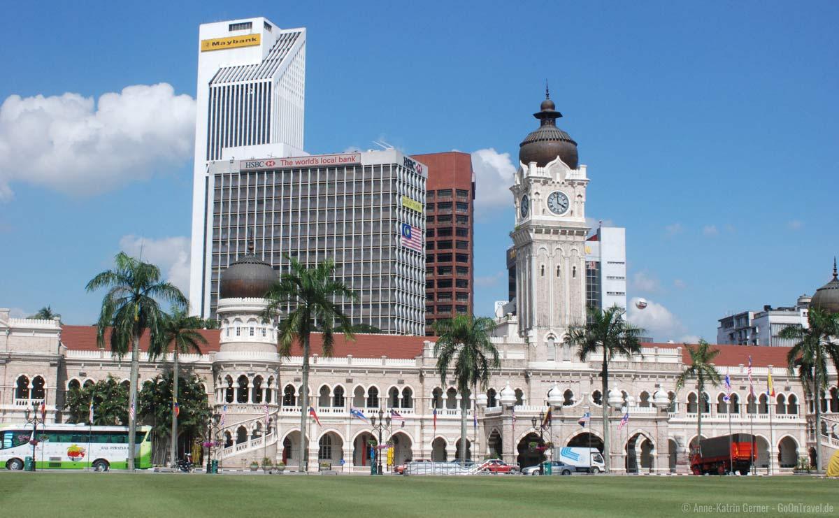 Sultan Abdul Samad Gebäude in Kuala Lumpur