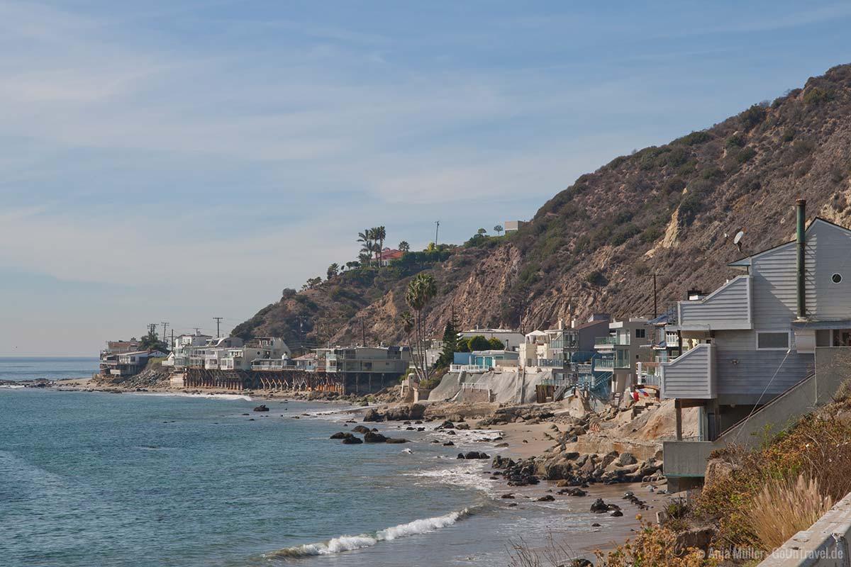 Strandhäuser von Malibu