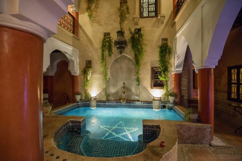 Marrakesch Riad Unterkunft