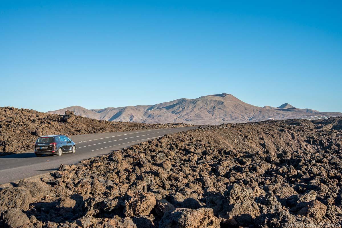 Mit dem Mietwagen Lanzarote erkunden macht einfach Spaß.