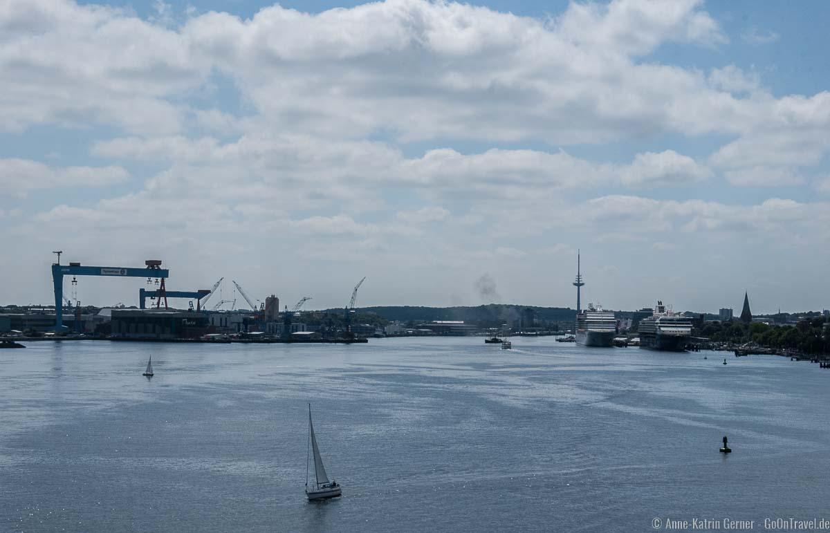 Abfahrt aus Kiel