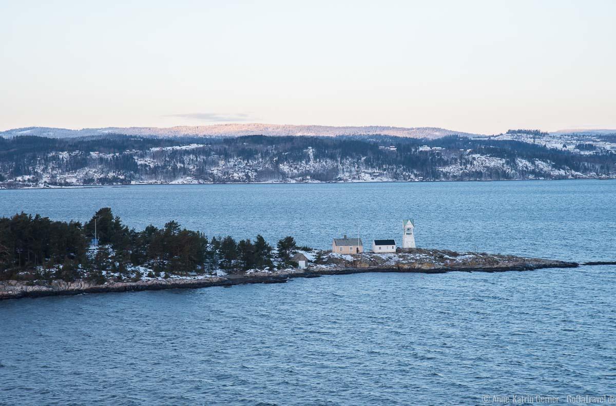 Oslofjord im Winter