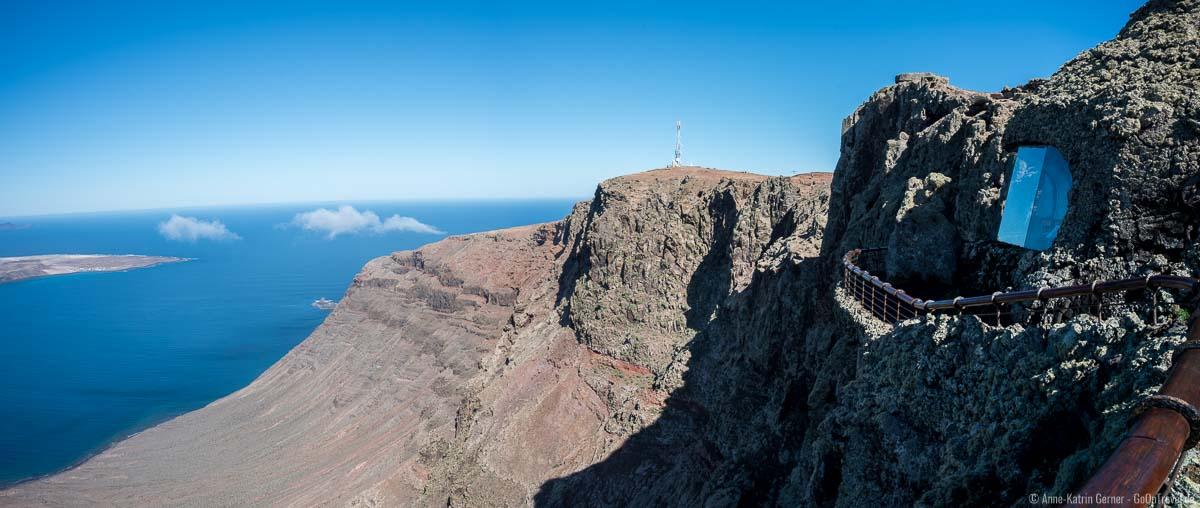 Mirador del Río am Nordkap von Lanzarote