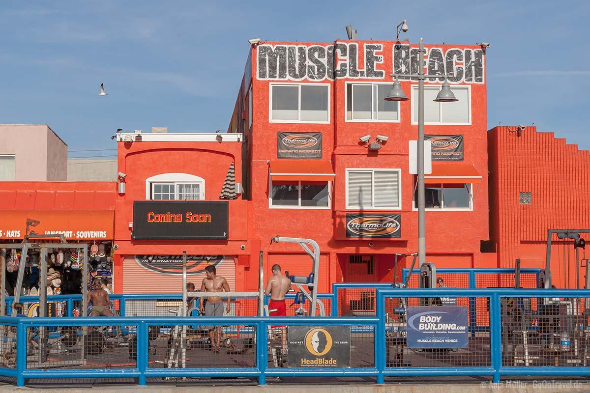 Muscle Beach in Venice