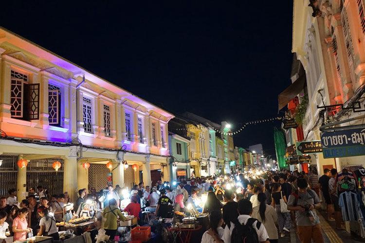 Nachtmarkt in Phuket Town