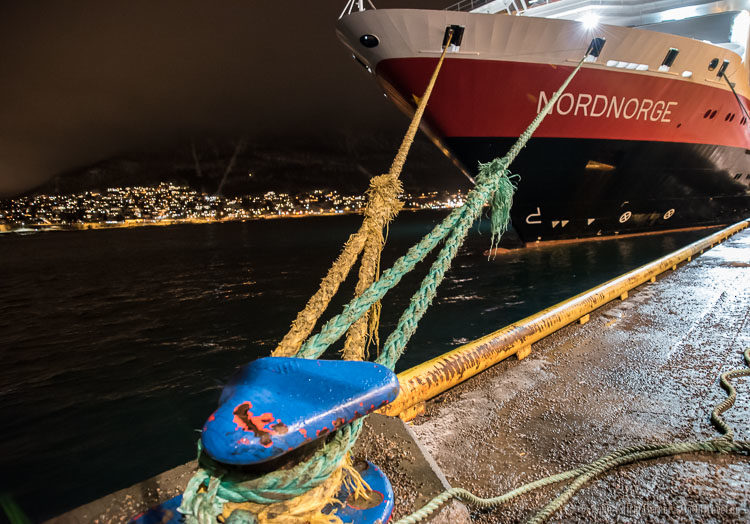 Postschiff in Tromsö