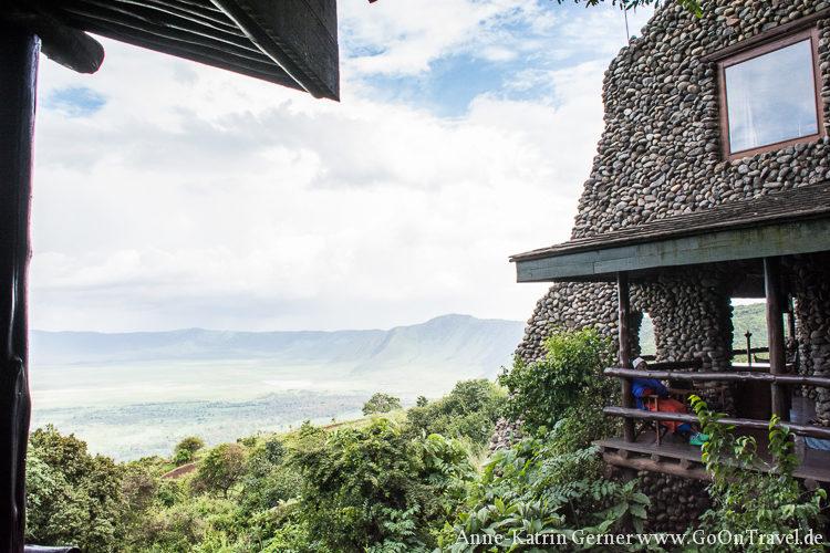 Kraterblick Ngorongoro Serena Lodge