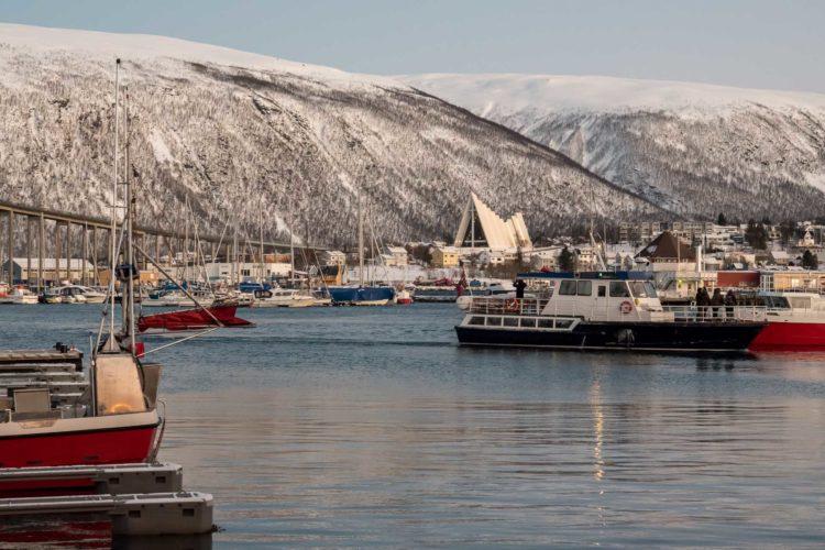 Norwegen Winter Tromso nördlichste Attraktionen
