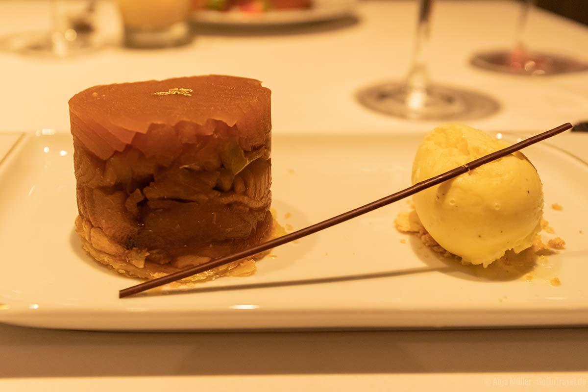 Dessert im Le Bistro
