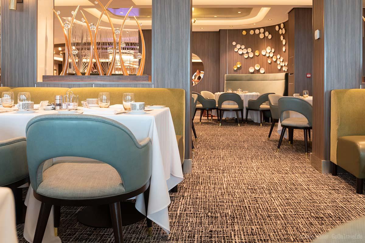 Savor Restaurant auf der Norwegian Encore