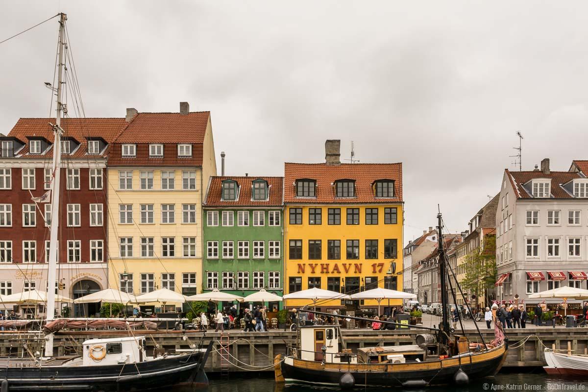 Nyhavn bei Regenwetter