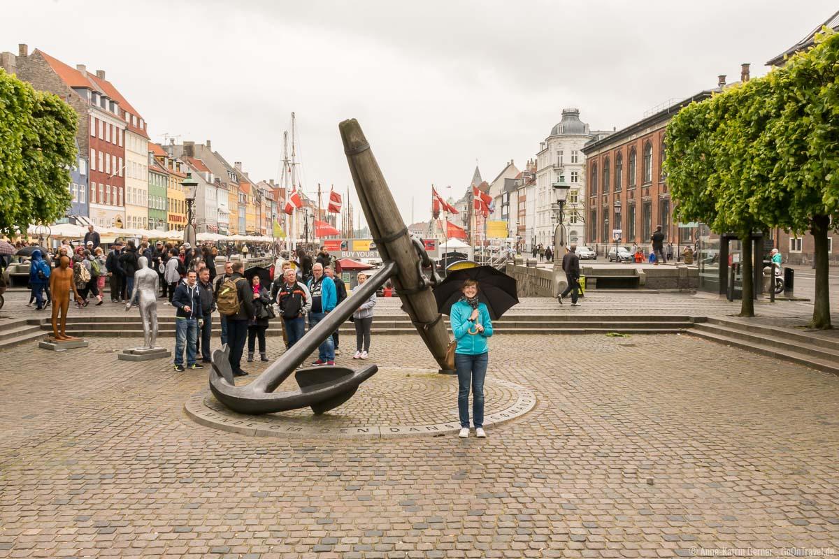Kopenhagen bei schlechten Wetter ist nicht schlimm