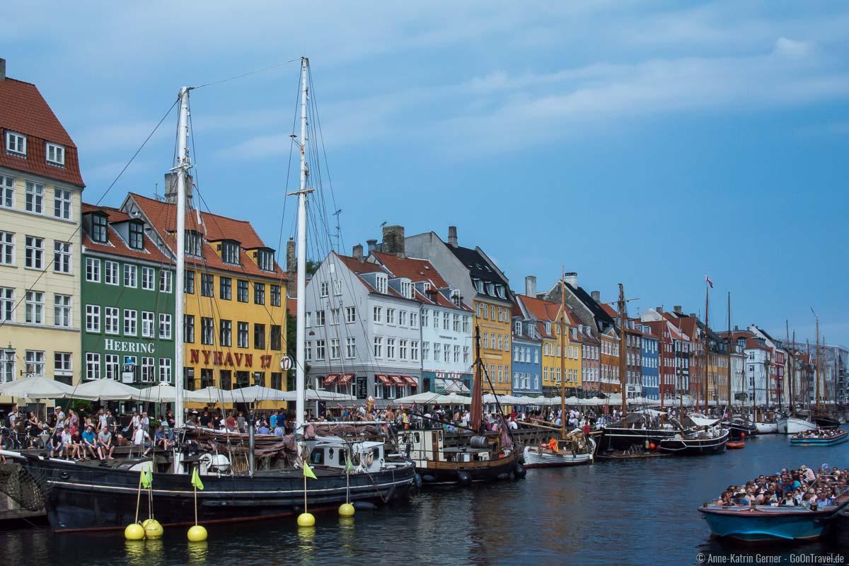 Beliebtes Reiseziel: Nyhavn in Kopenhagen