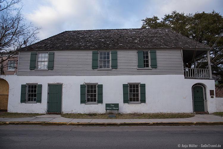 The Gonzales-Alvarez Hose - Das älteste Haus