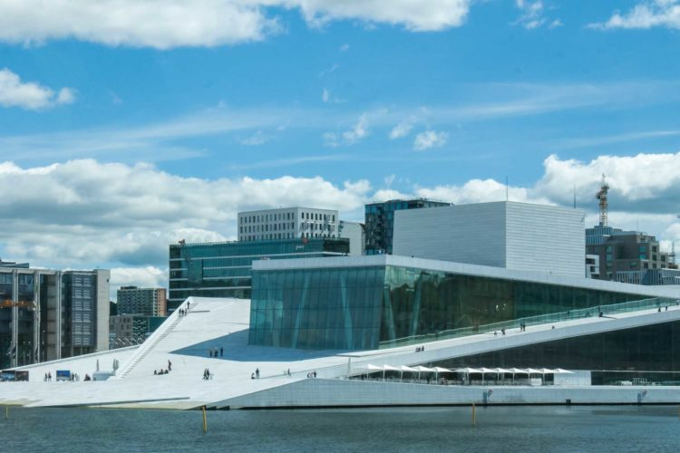 Oslo Oper Sehenswürdigkeiten