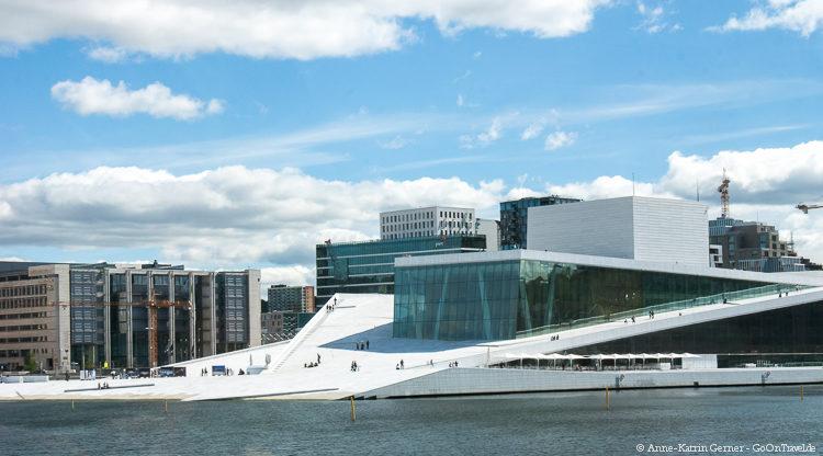 das Opernhaus von Oslo
