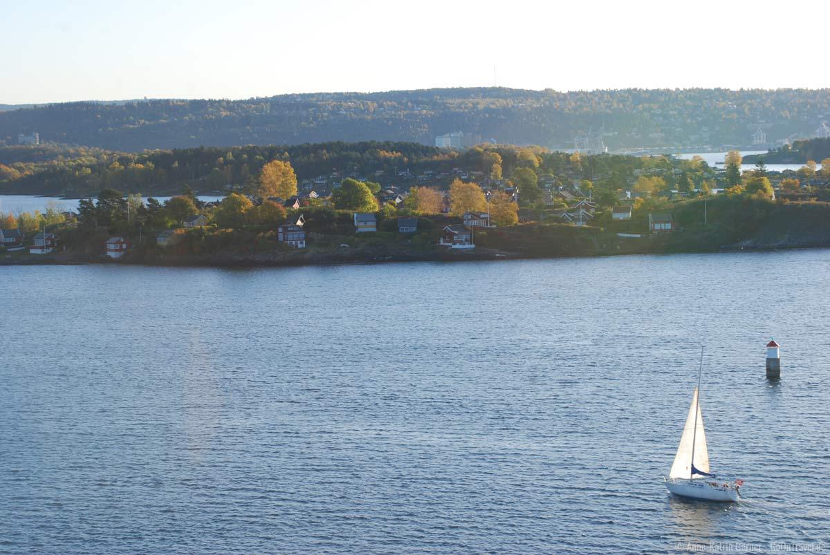 Oslofjord im Herbst