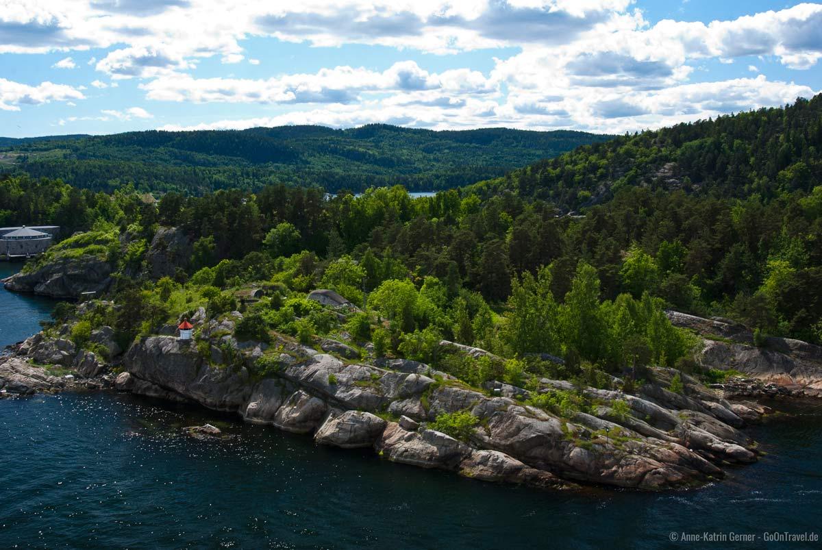 Oslofjord im Sommer