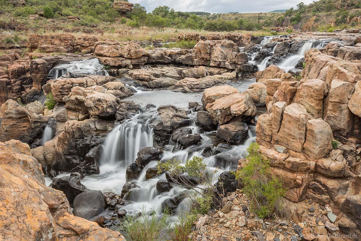 Wasserfälle am Bourkes Luck Potholes