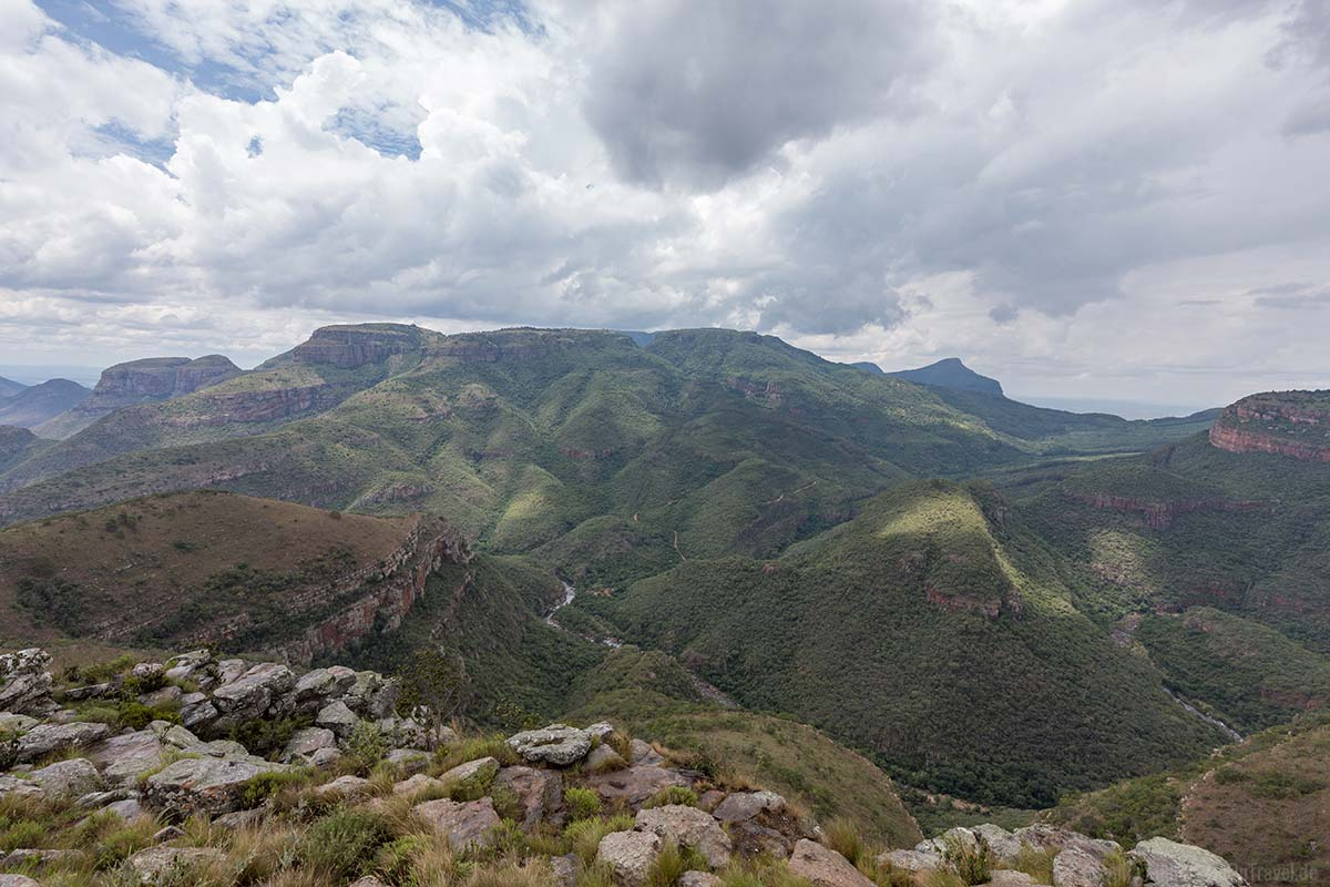 Lowveld View nahe dem Blyde River Canyon