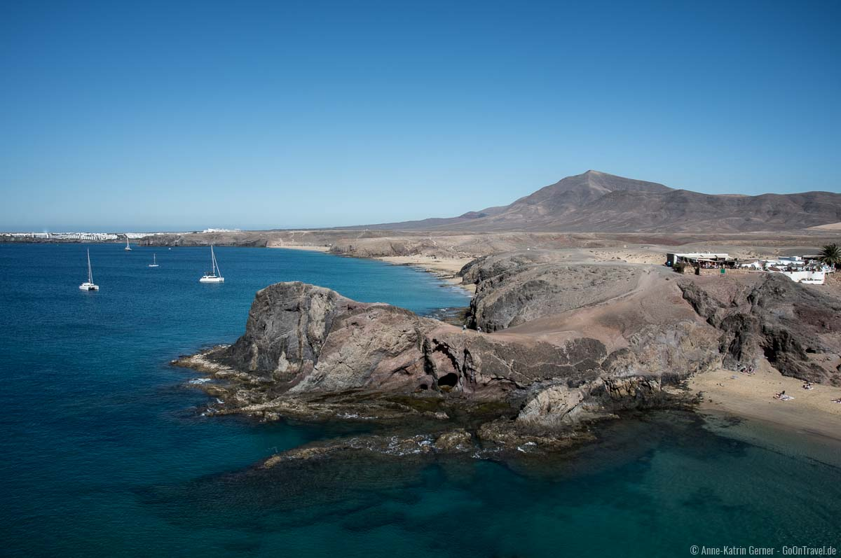 Die Papagayo Strände mit den kleinen Buchten zählen zu den schönsten Stränden von Lanzarote