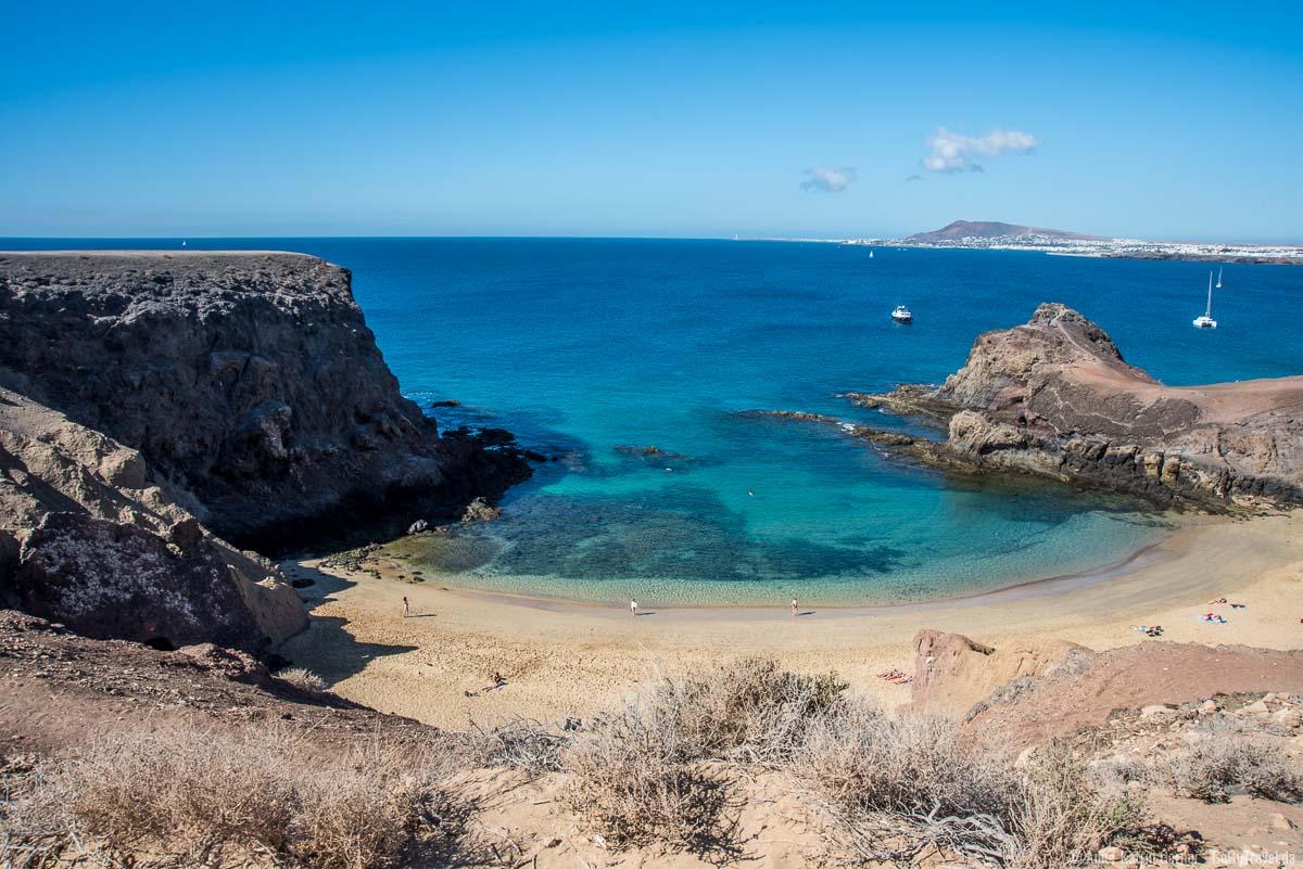 Wie im Bilderbuch: die Bucht Playa Papagayo