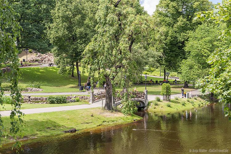 Der Park von Riga