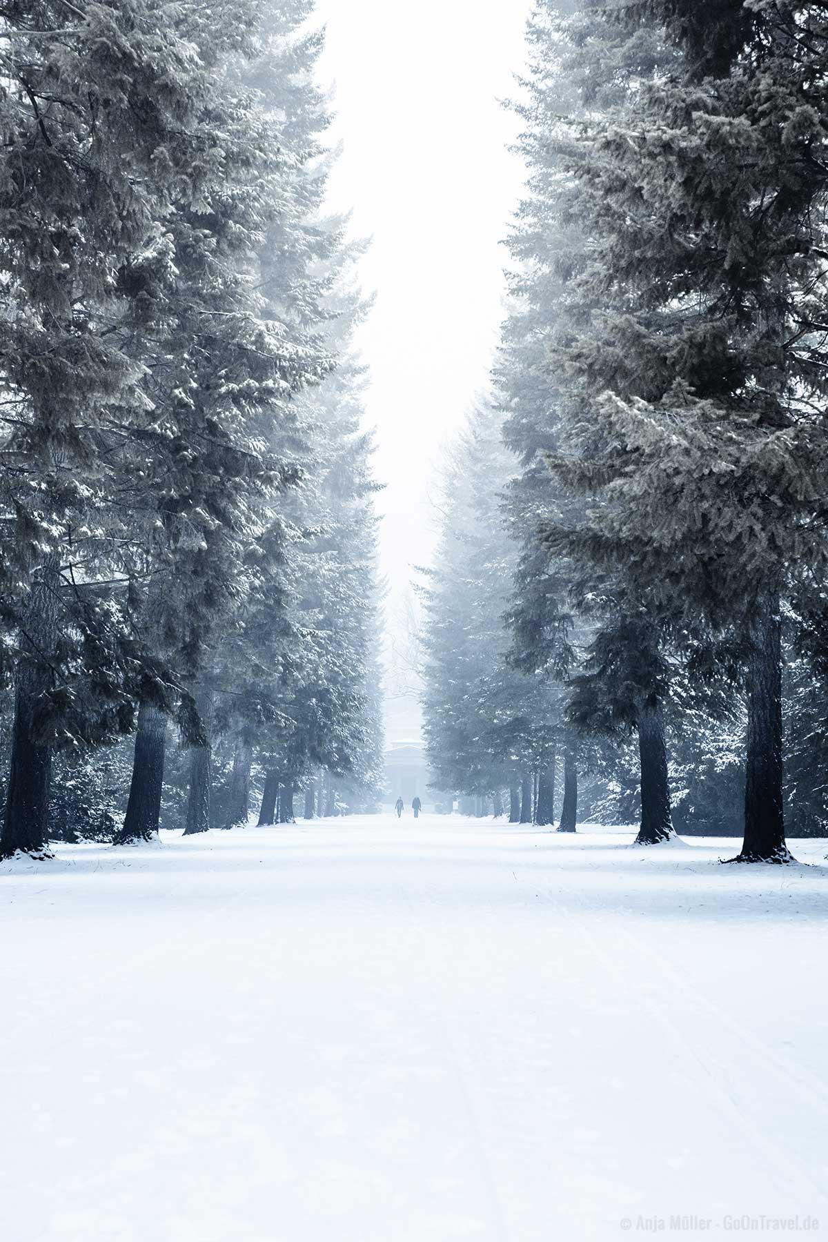 Schlosspark Charlottenburg im Winter