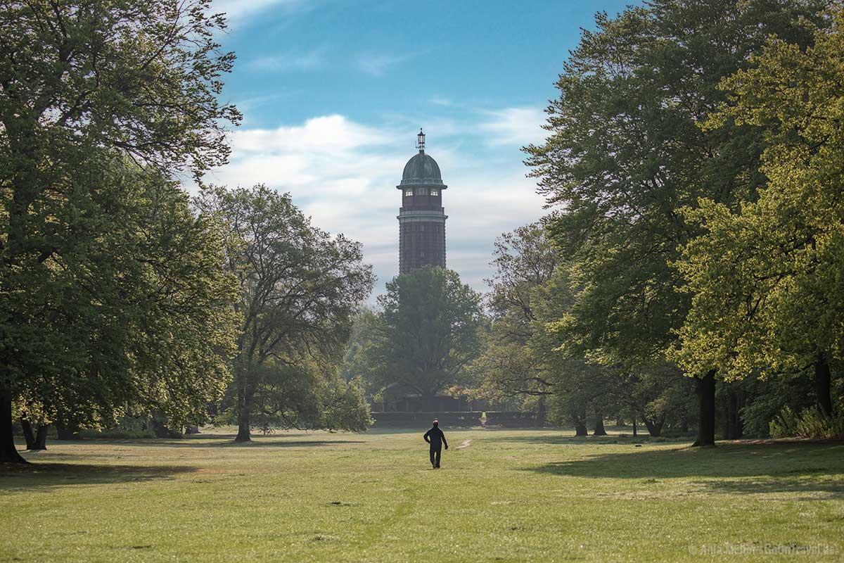 Historischer Wasserturm im Volkspark Jungfernheide