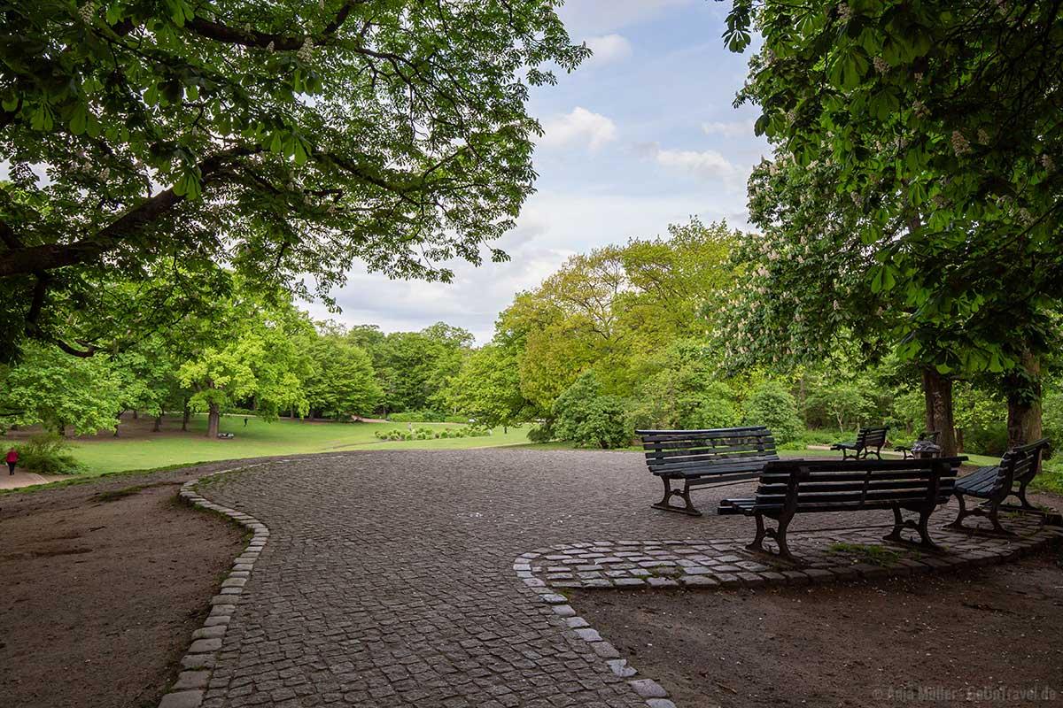 Schöner Ausblickspunkt im Volkspark Schöneberg-Wilmersdorf