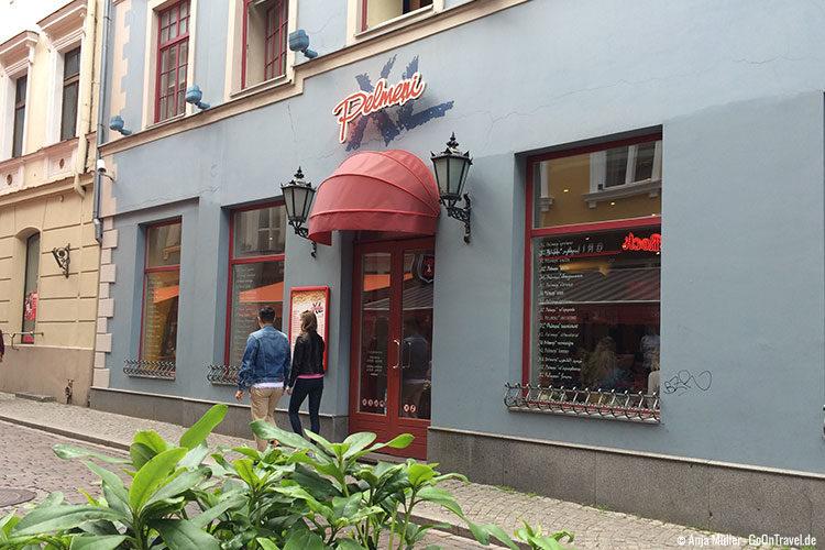 Günstig Essen in Riga: Das Pelmeni