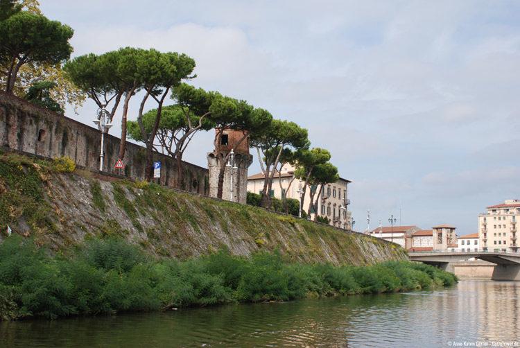 Blick auf den Giardino Scotto