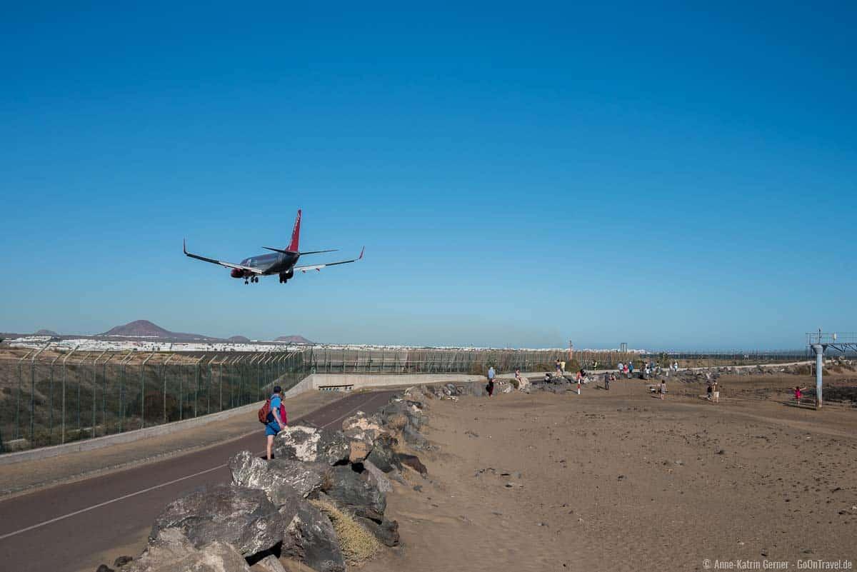 Planespotting ist auf Lanzarote sehr beliebt