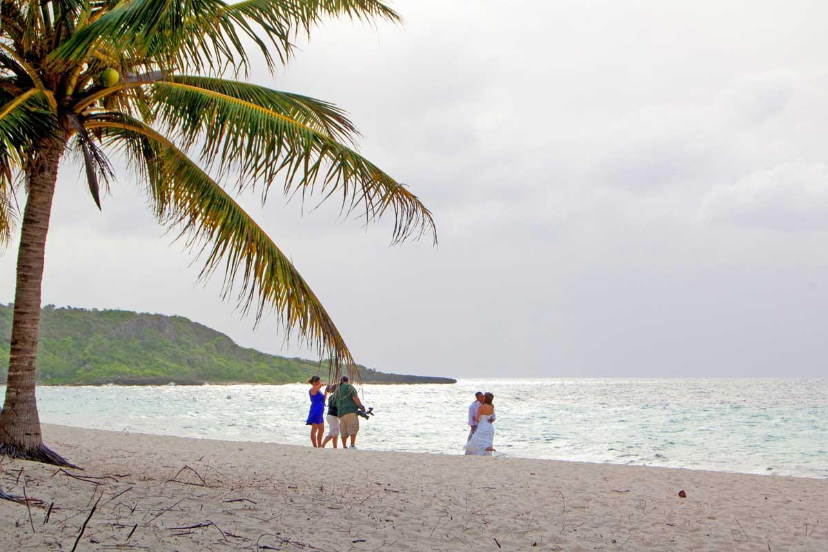 Traumstrand zum Heiraten: Playa Esmeralda auf Kuba