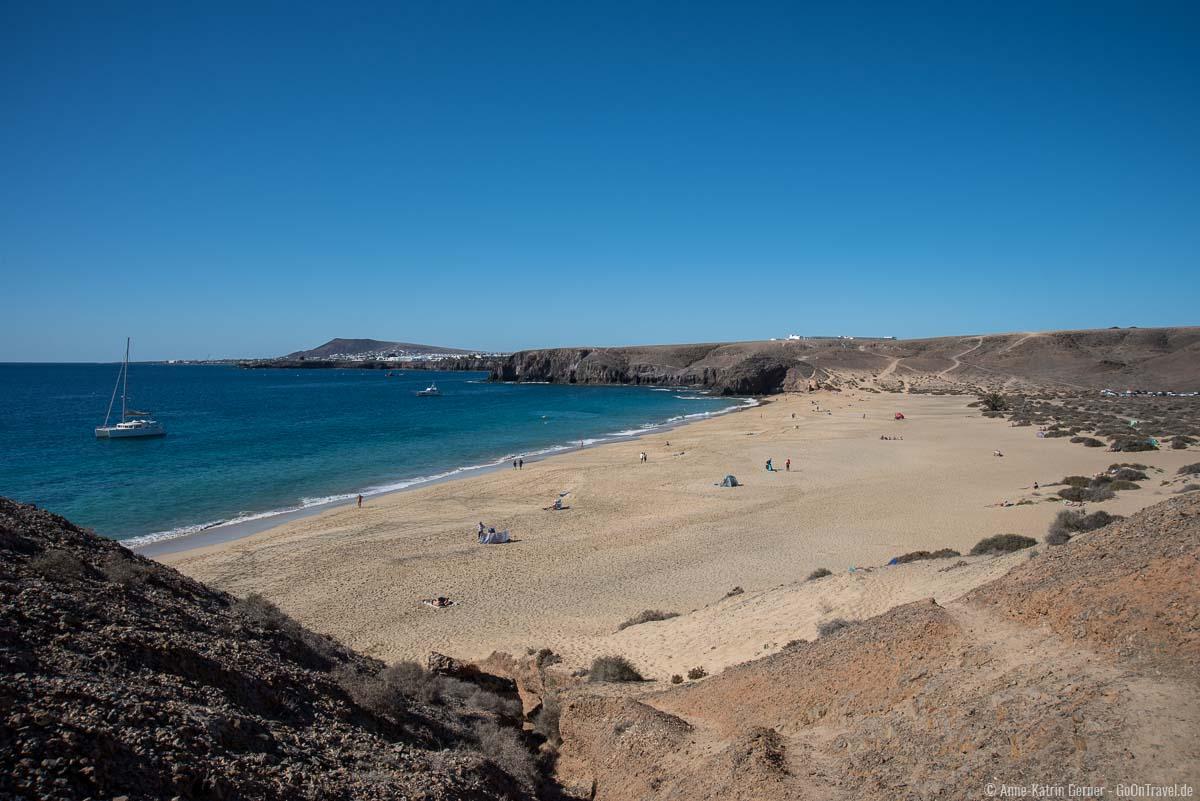 Der schöne breite Strand von Playa Mujeres ist sehr gut zu erreichen