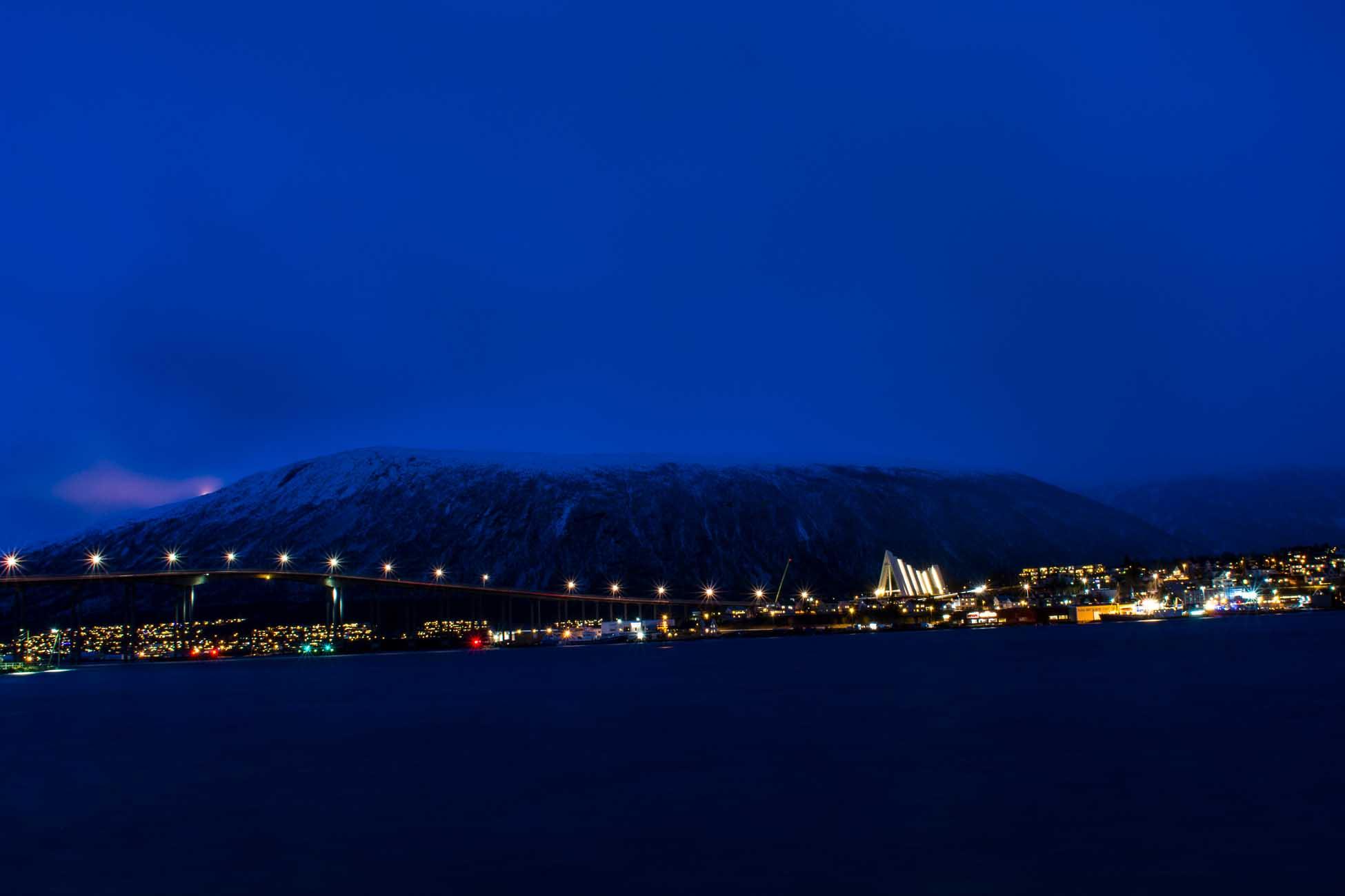 Polarnacht Tromso Norwegen