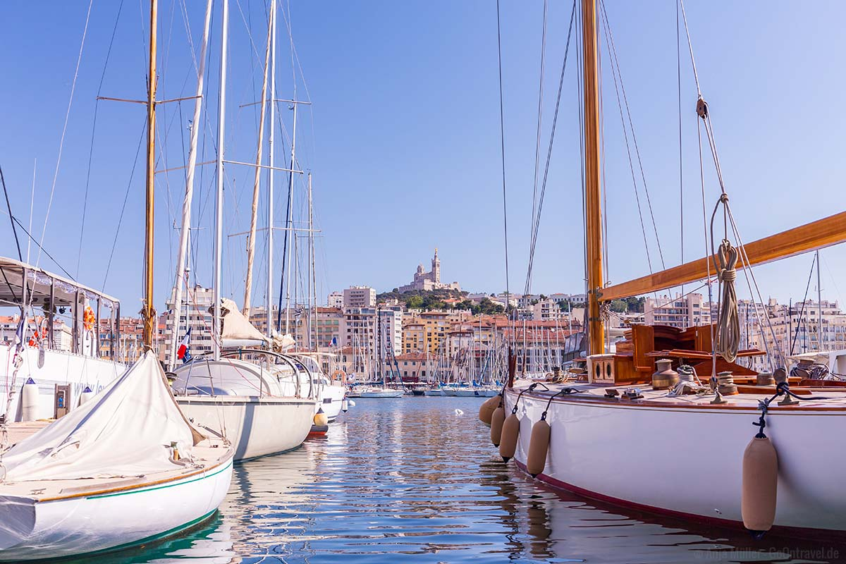 Alter Hafen - Vieux Port von Marseille