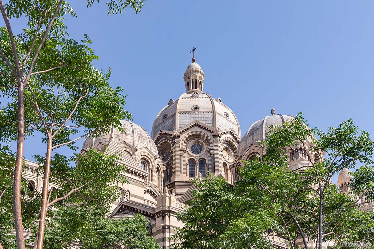 Die Kathedrale von Marseille