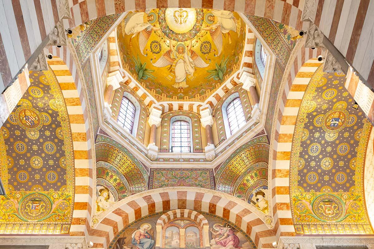 In der Basilika Notre-Dame-de-la-Garde
