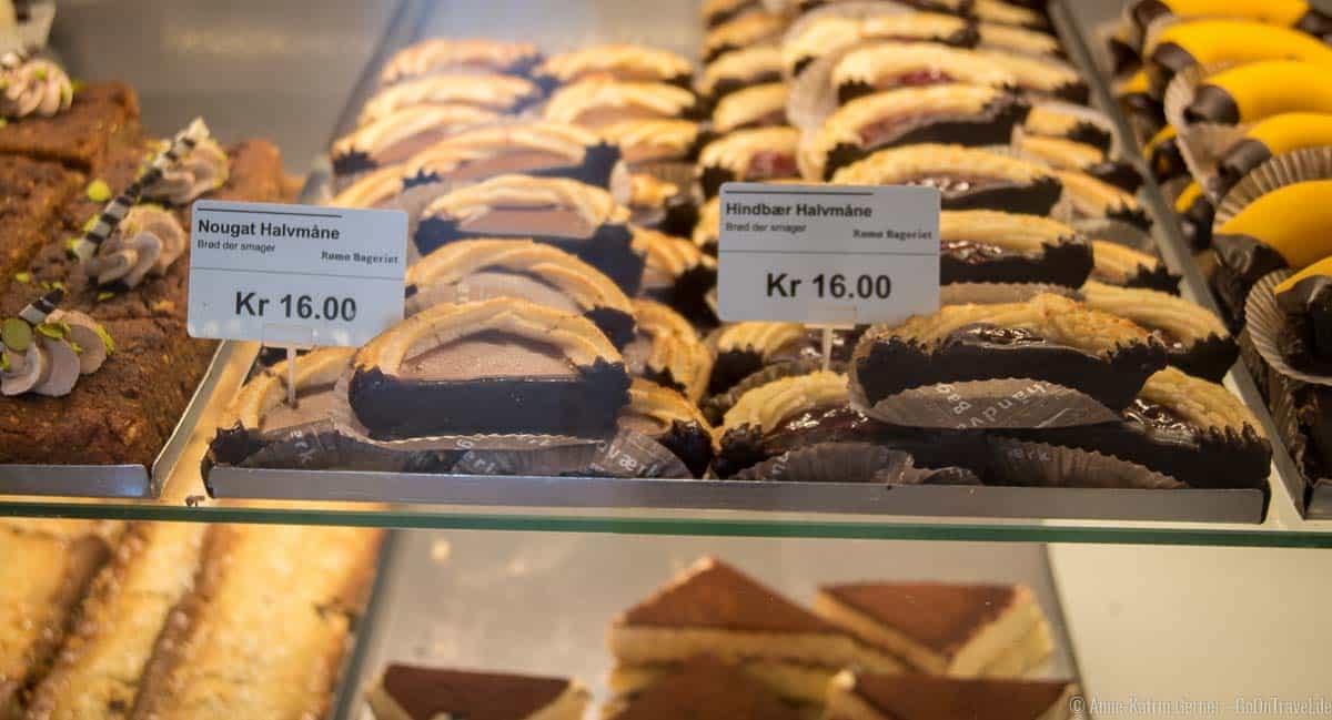 Süße Verführungen in der Rømø Bageriet